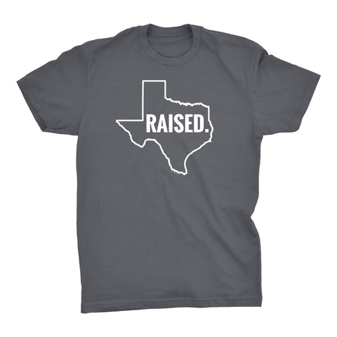 ShirtInvaders TEXAS Raised - 002 - Proud Native Texan T-Shirt
