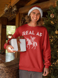 Real Af - Christmas Long Sleeve Shirt