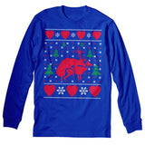 Reindeer Heart - Christmas Long Sleeve Shirt