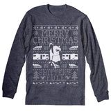 Merry Christmas Shitter Was Full - Cousin Eddie SWEATER STYLE-Long Sleeve