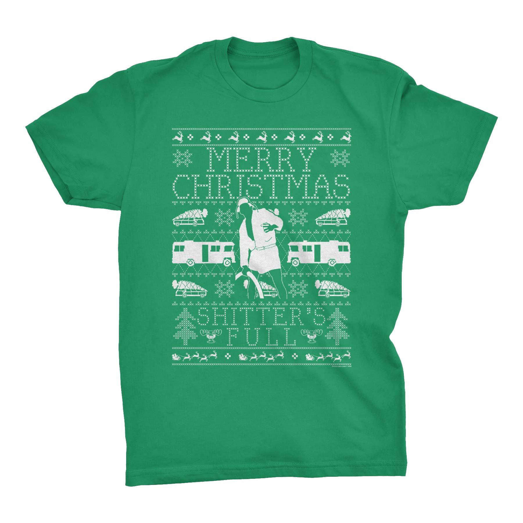 Merry Christmas Shitter Was Full - Cousin Eddie SWEATER STYLE-T-Shirt
