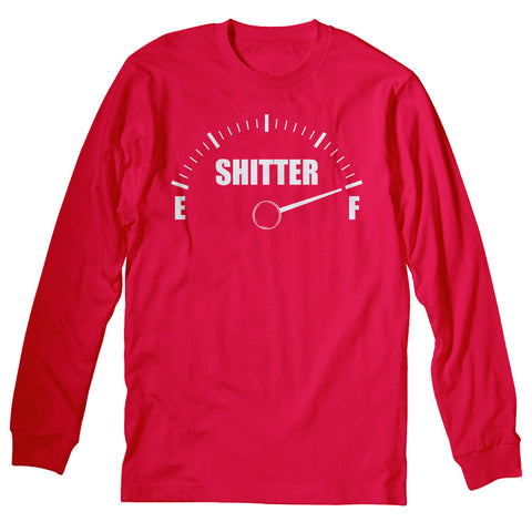 Shitter Gauge - Christmas Long Sleeve Shirt