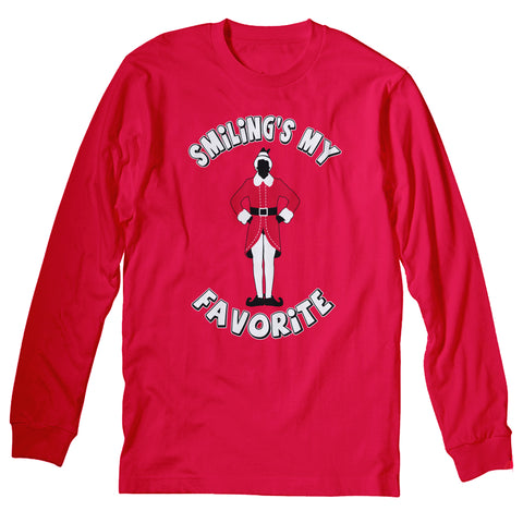 Smiling Standing - Christmas Long Sleeve Shirt