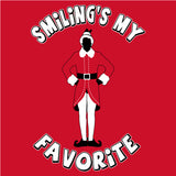Smiling Standing - Christmas T-shirt