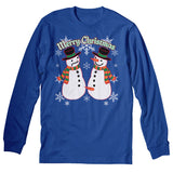 Snowman - Christmas Long Sleeve Shirt
