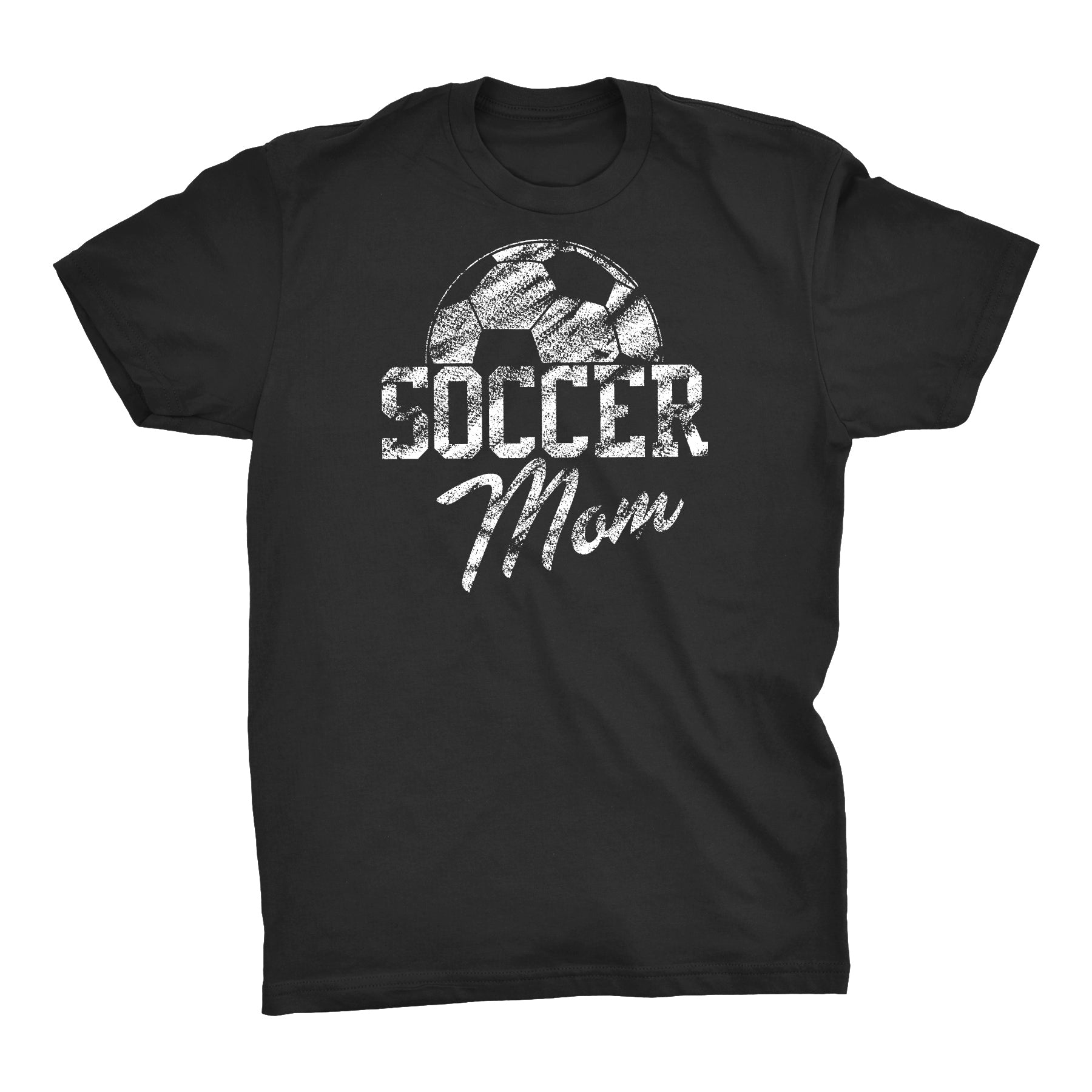 Soccer Mom Ball - Simulated Chalk Distress - Soccer Mom T-shirt