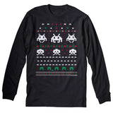 Space Invaders - Christmas Long Sleeve Shirt