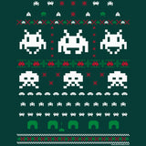 Space Invaders - Christmas T-shirt