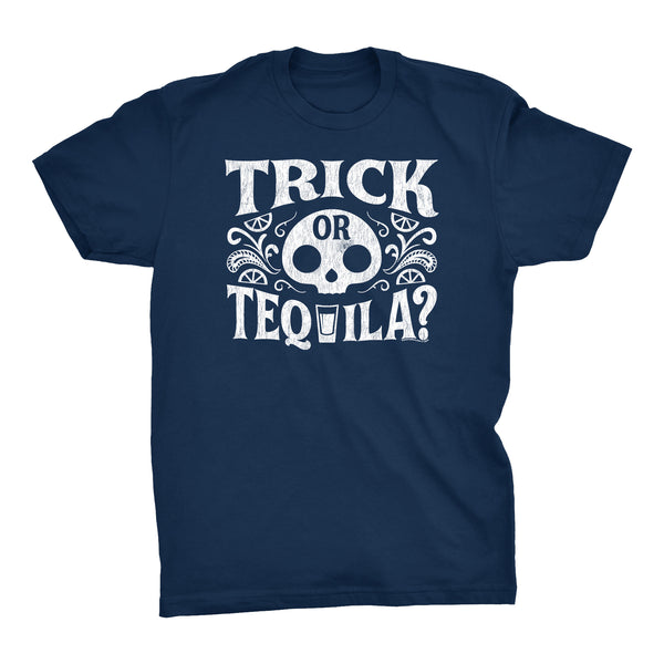 Trick Or Tequila - Funny Halloween Party Drinking T-Shirt