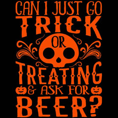 Can I Go Trick Or Treating & Just Ask For BEER
