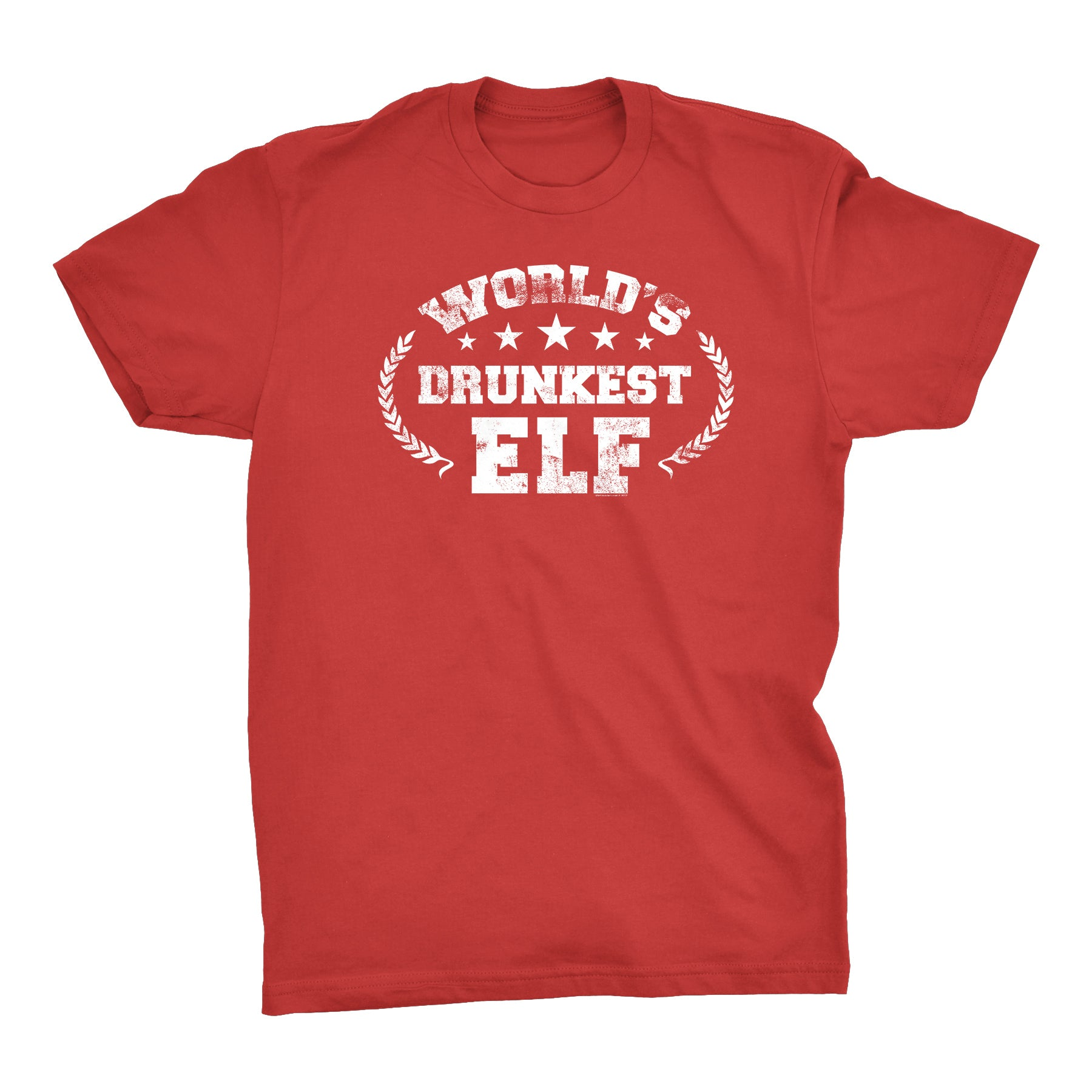 World's Drunkest Elf - Christmas T-shirt