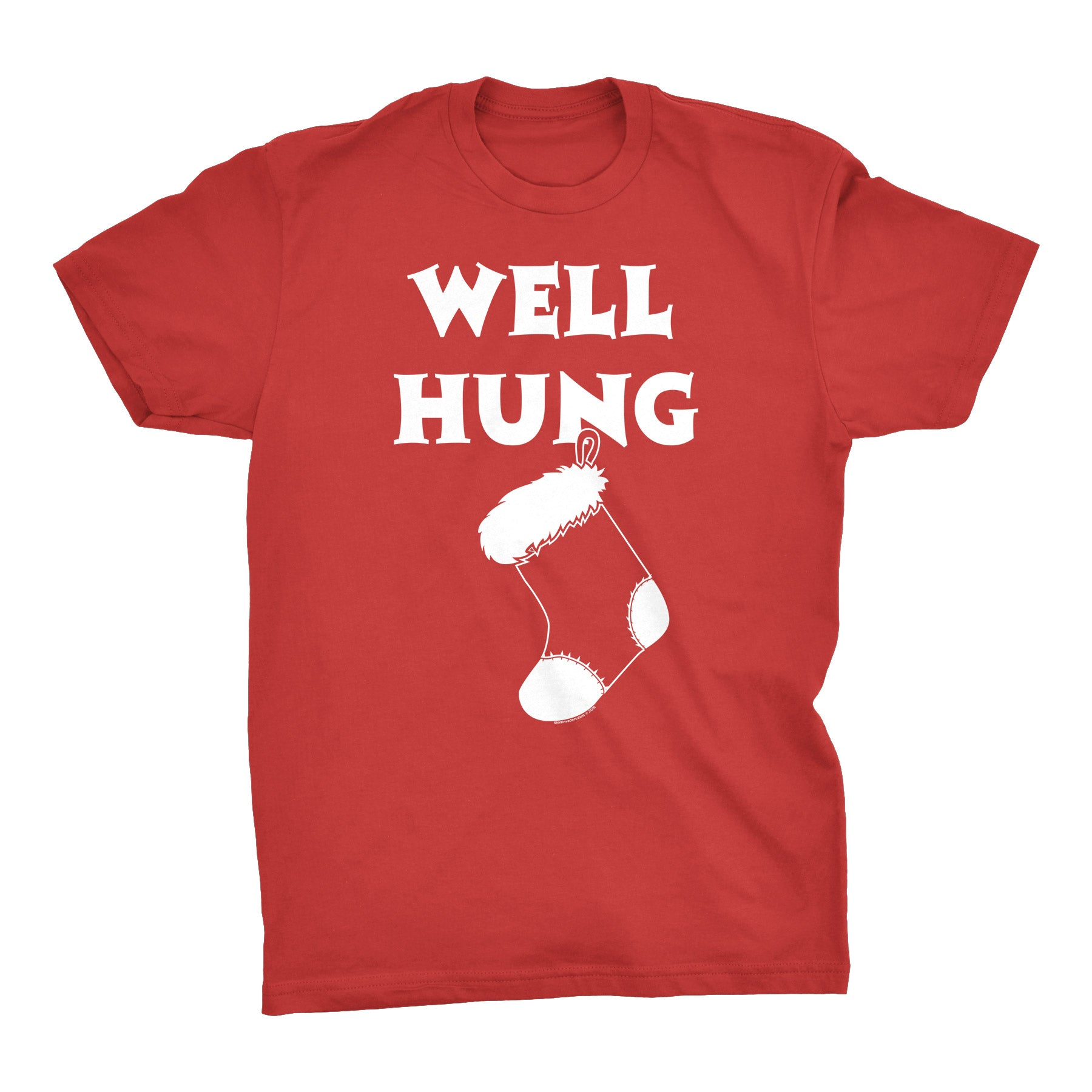 Well Hung - Christmas T-shirt