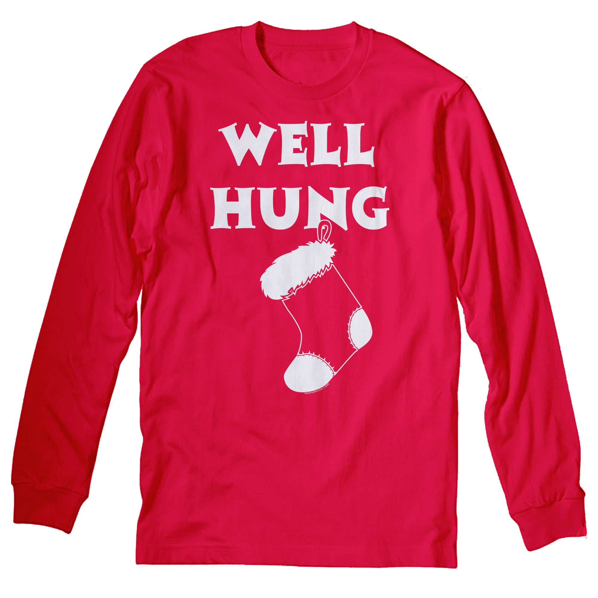 Well Hung - Christmas Long Sleeve Shirt