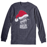 Wonderful Time Beer Mug - Christmas Long Sleeve Shirt