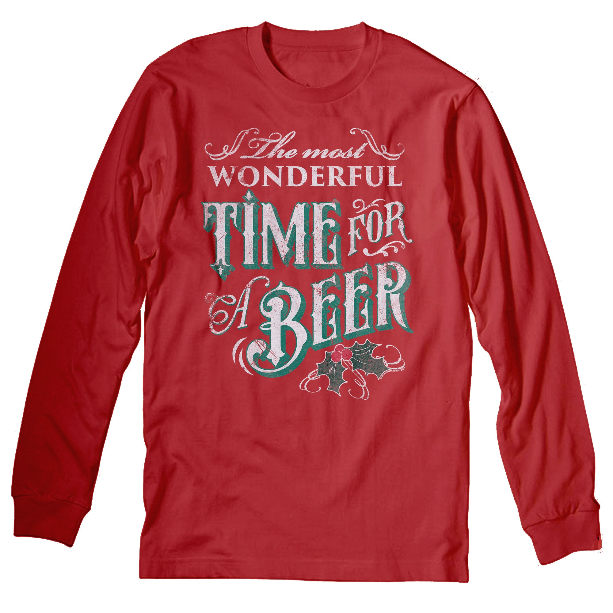 Wonderful Time - Christmas Long Sleeve Shirt