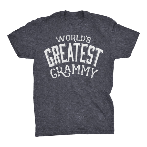 World's Greatest GRAMMY - 001 Mother's Day Grandmother Ladies Fit T-shirt