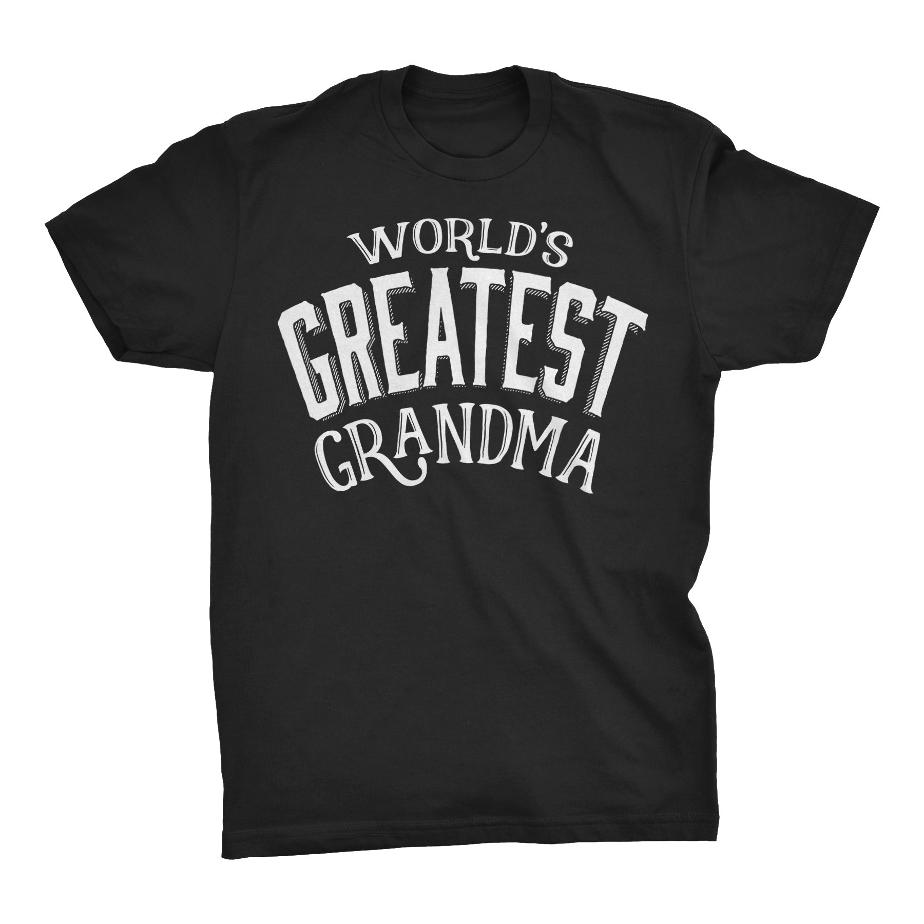 World's Greatest GRANDMA - 001 Mother's Day Grandmother Ladies Fit T-shirt