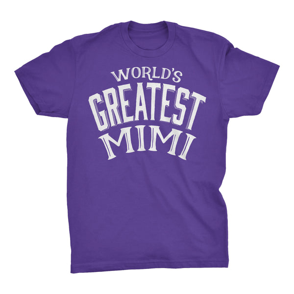 World's Greatest MIMI - 001 Mother's Day Grandmother T-shirt