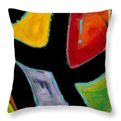 Boogie Fog Disco  - Throw Pillow