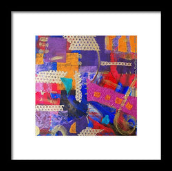 Confetti Of Love - Framed Print
