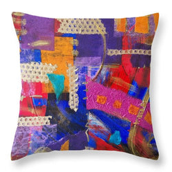 Confetti Of Love - Throw Pillow