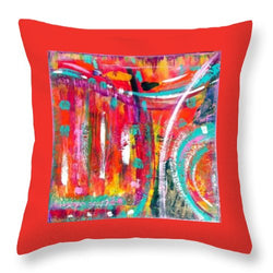 Cool Flow - Throw Pillow