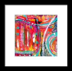 Cool Flow - Framed Print