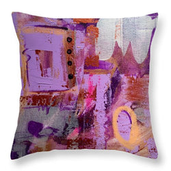 Purple Rain - Throw Pillow