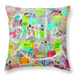 Give A Kid A Smile - Throw Pillow