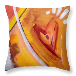 Happy - Throw Pillow