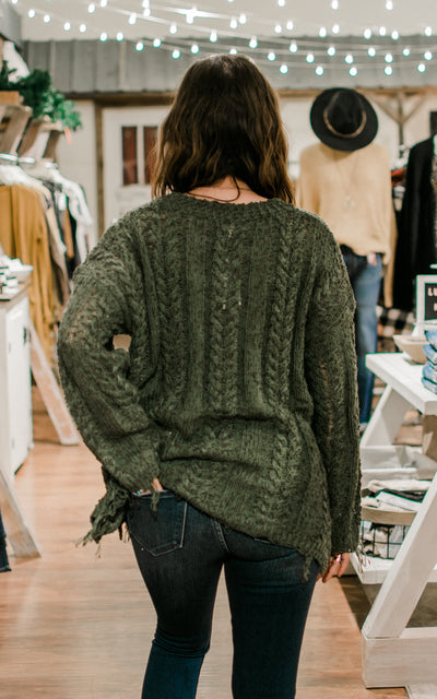 Forest Dancer Sweater