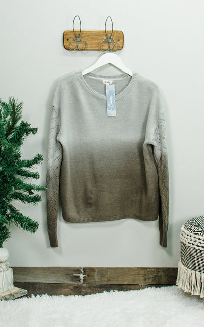 Hazelnut Coffee Sweater