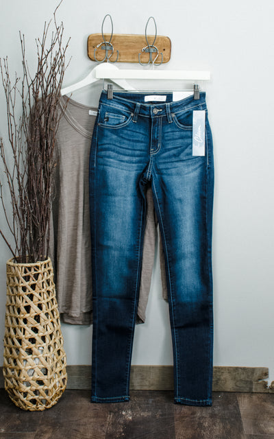 Janie Skinny Kan Can Jeans