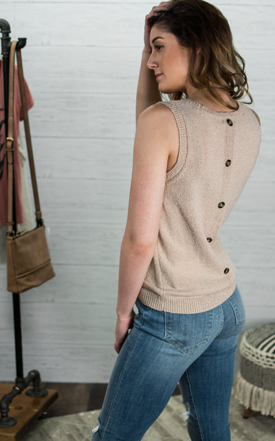 Knotty Cozy Knit Tank