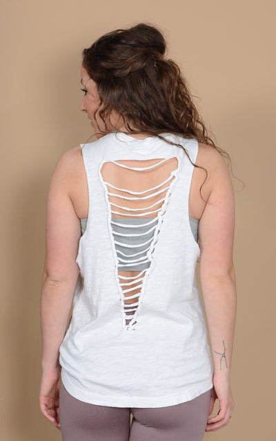 Ladder Back Muscle Tank