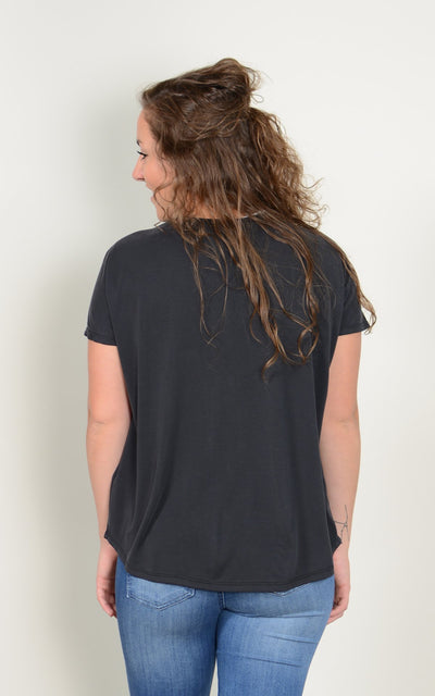 Lana Lace Up Tee