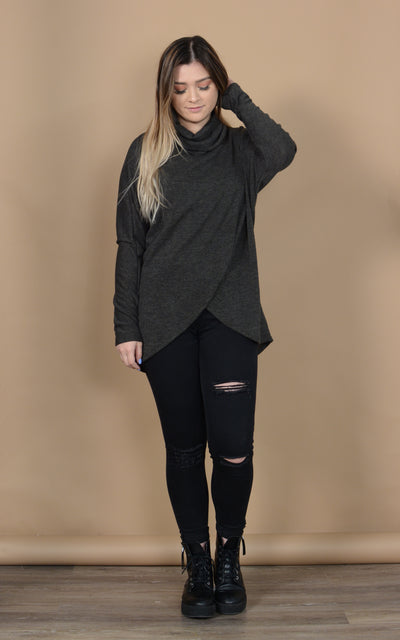 Nera Over Wrap Sweater