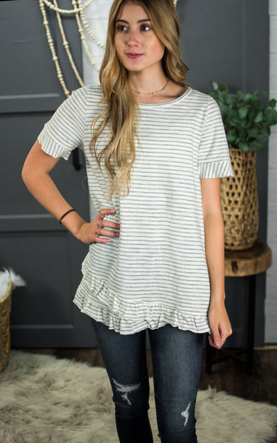Play Pretend Striped Tee