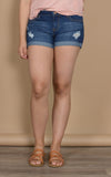 Runaway Dark Wash Short