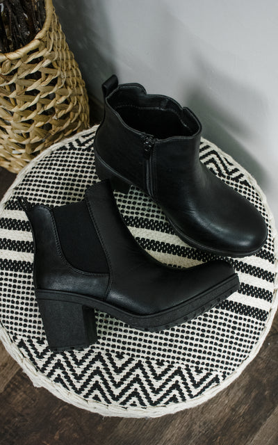 Sanders High Top Bootie