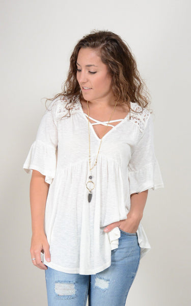 Sandy Baby Doll Top