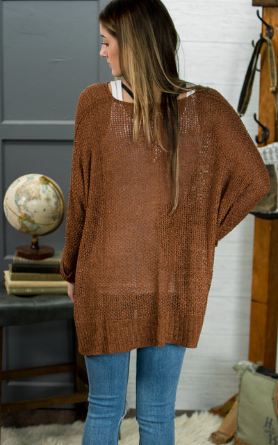 Slouched Afternoon Sweater
