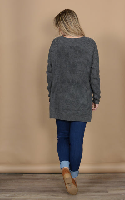 Slouchy Midnight Sweater