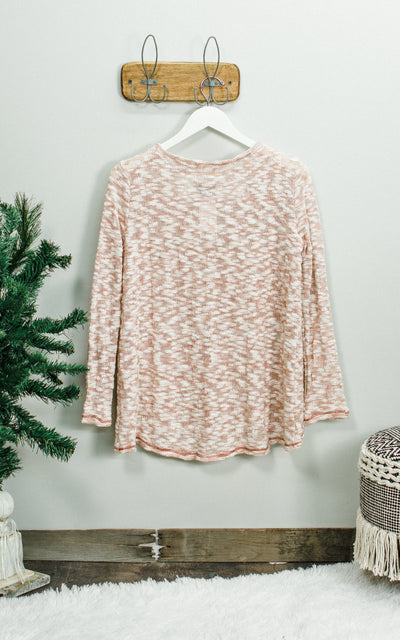 Slub Swing Sweater Top