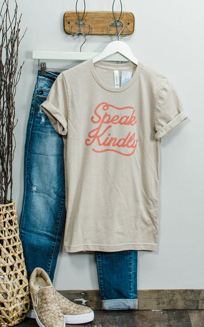 Speak Kindly Graphic Tee