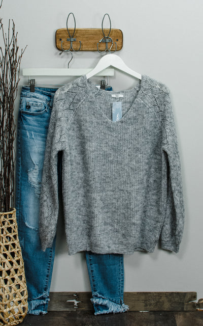 Spring Bloom Knit Sweater