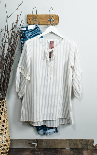 Tassel Breeze Top