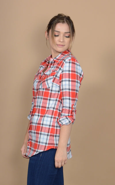 Trunk Show Flannel Top