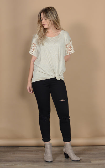 Tumwater Lace Tee