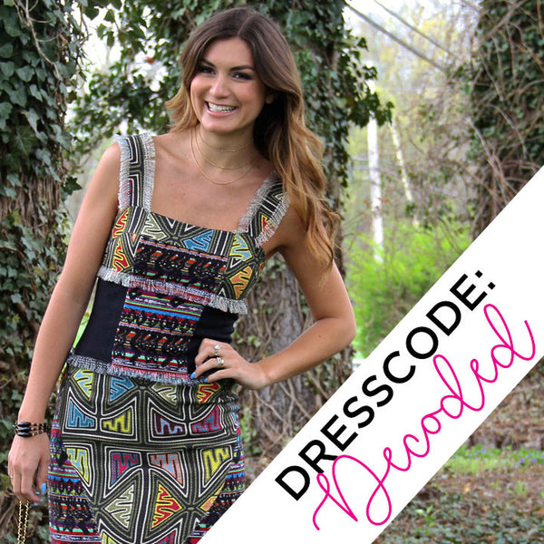 DRESS CODE: decoded!